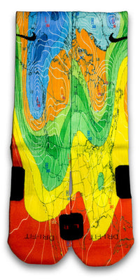 Weatherman Custom Elite Socks - CustomizeEliteSocks.com - 1