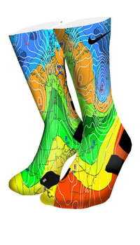 Weatherman Custom Elite Socks - CustomizeEliteSocks.com - 4