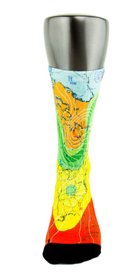 Weatherman CES Custom Socks - CustomizeEliteSocks.com - 2