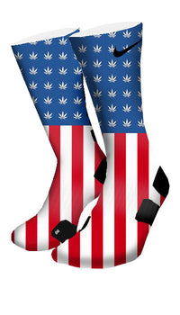 Weed Country Custom Elite Socks - CustomizeEliteSocks.com - 4