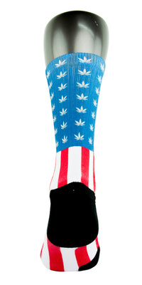 Weed Country CES Custom Socks - CustomizeEliteSocks.com - 4