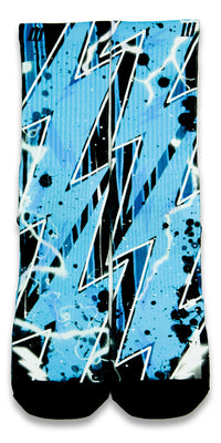 Dark Zoom CES Custom Socks - CustomizeEliteSocks.com - 1