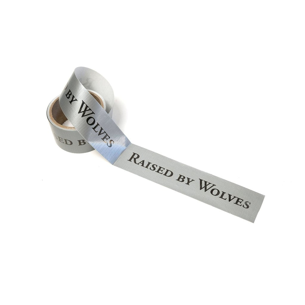 Raised By Wolves Duct Tape (Sliver)