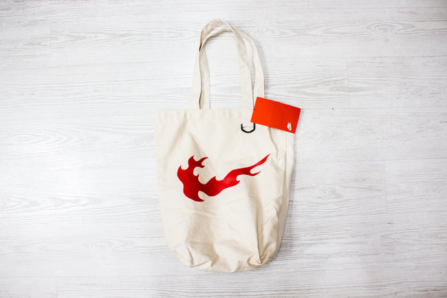 Nike Heritage Tote Bag (Nature/Habanero Red)