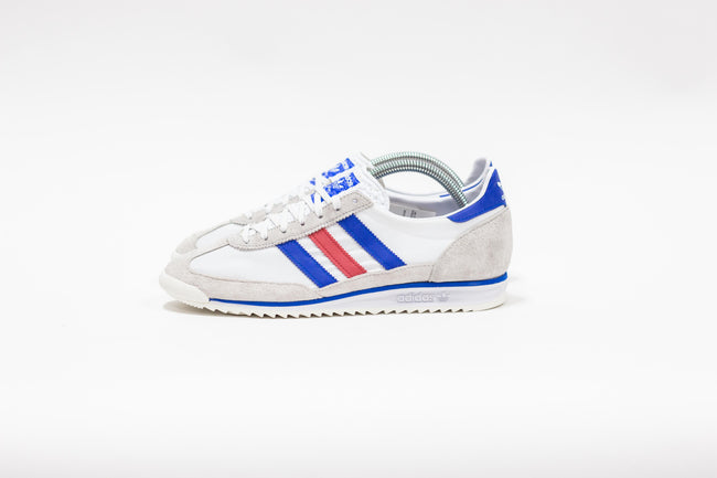 Adidas SL 72 (Cloud White/Glow Blue/Glory Red)