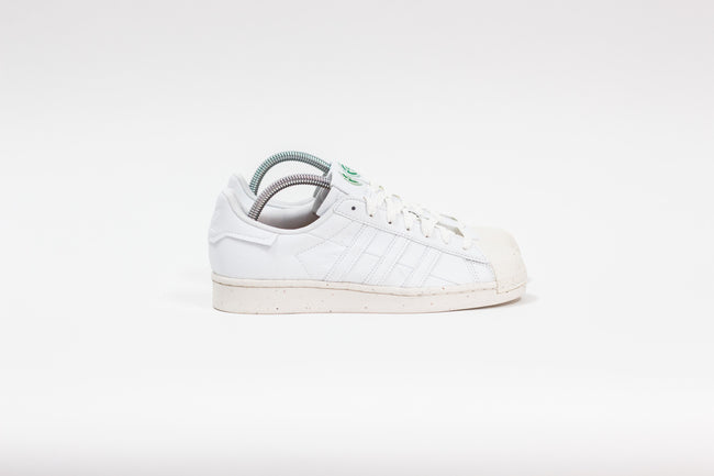 Adidas Superstar Vegan (Cloud White/Off White/Green)