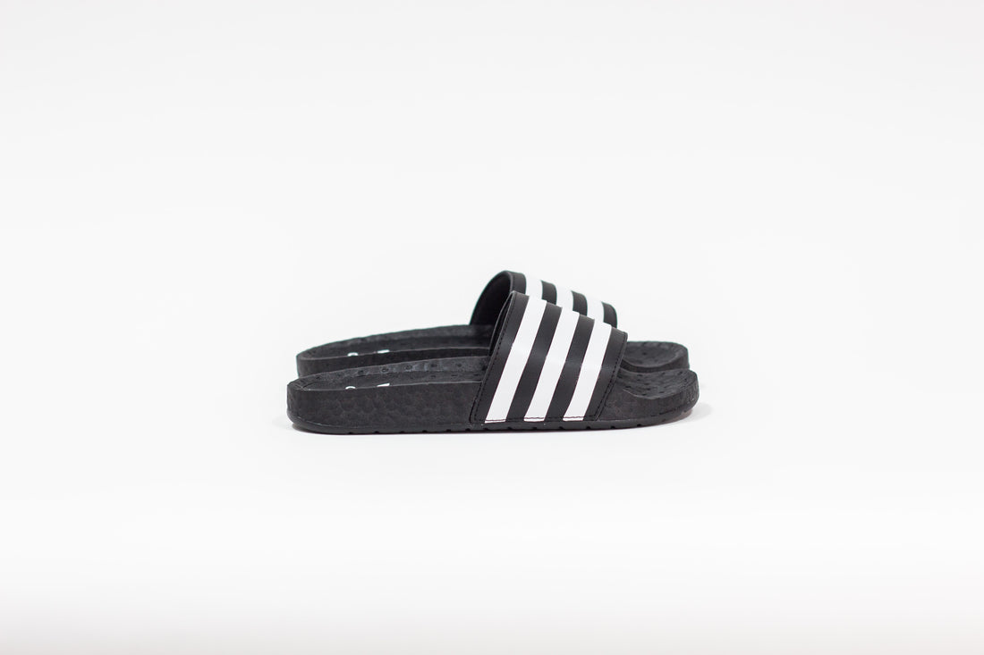 Adidas Adilette Boost (Core Black/Footwear White)