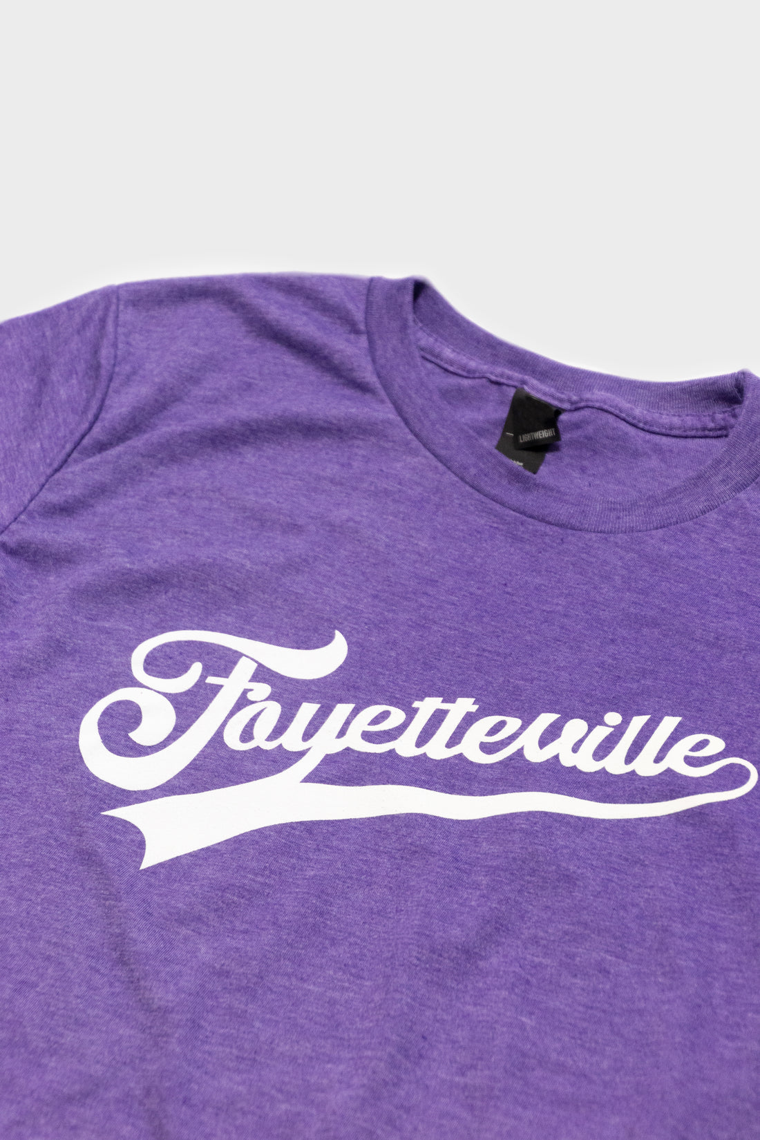 Kreative Dimensions Fayetteville Tee (Purple Heather/White)