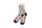 Arkansocks Argyle State of Mind (Bone/Slate-Brown)