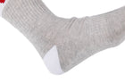 Arkansocks The Tailgater (Ash Grey/Red)