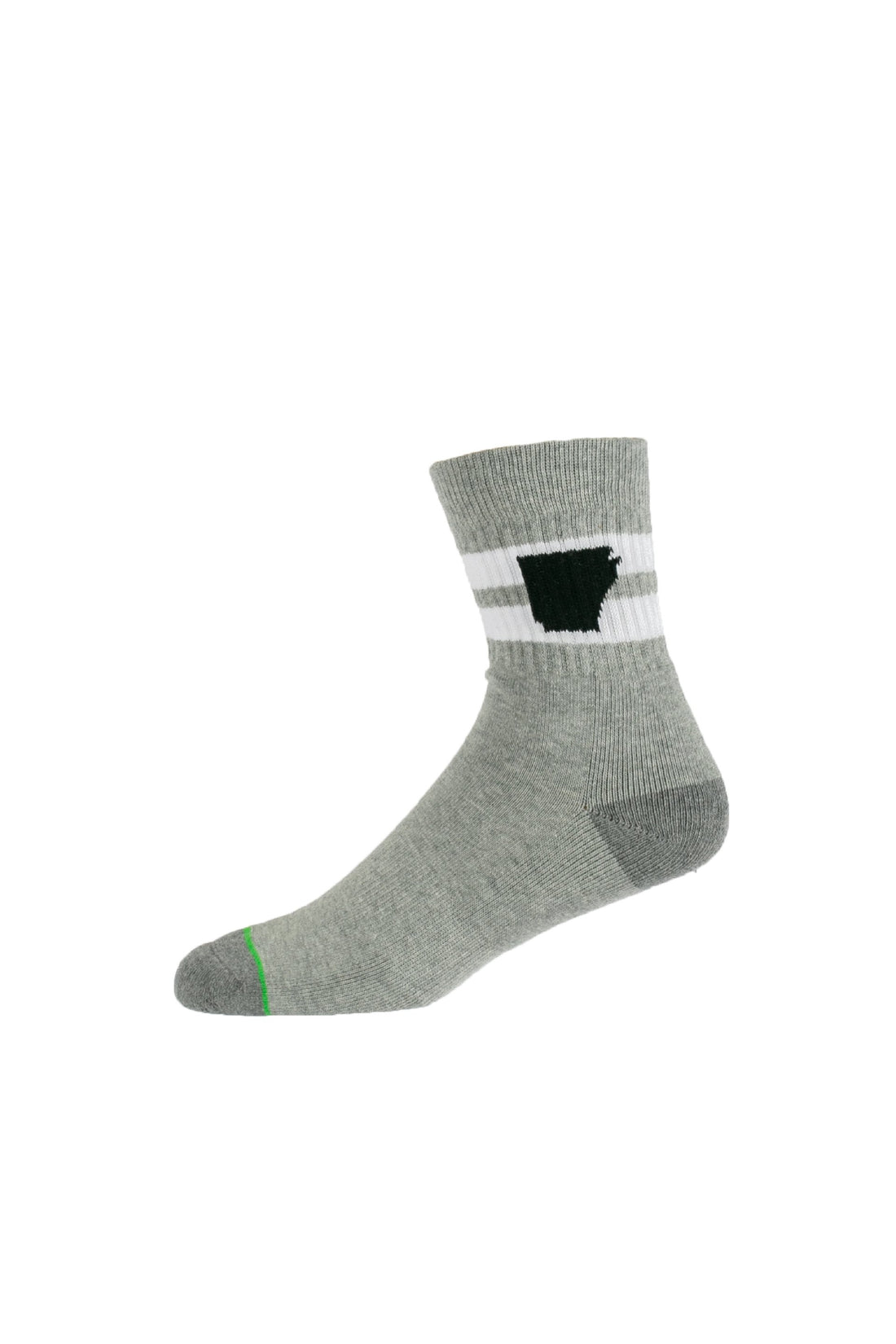 Arkansocks Tailgater Mid (Heather Grey/Charcoal)