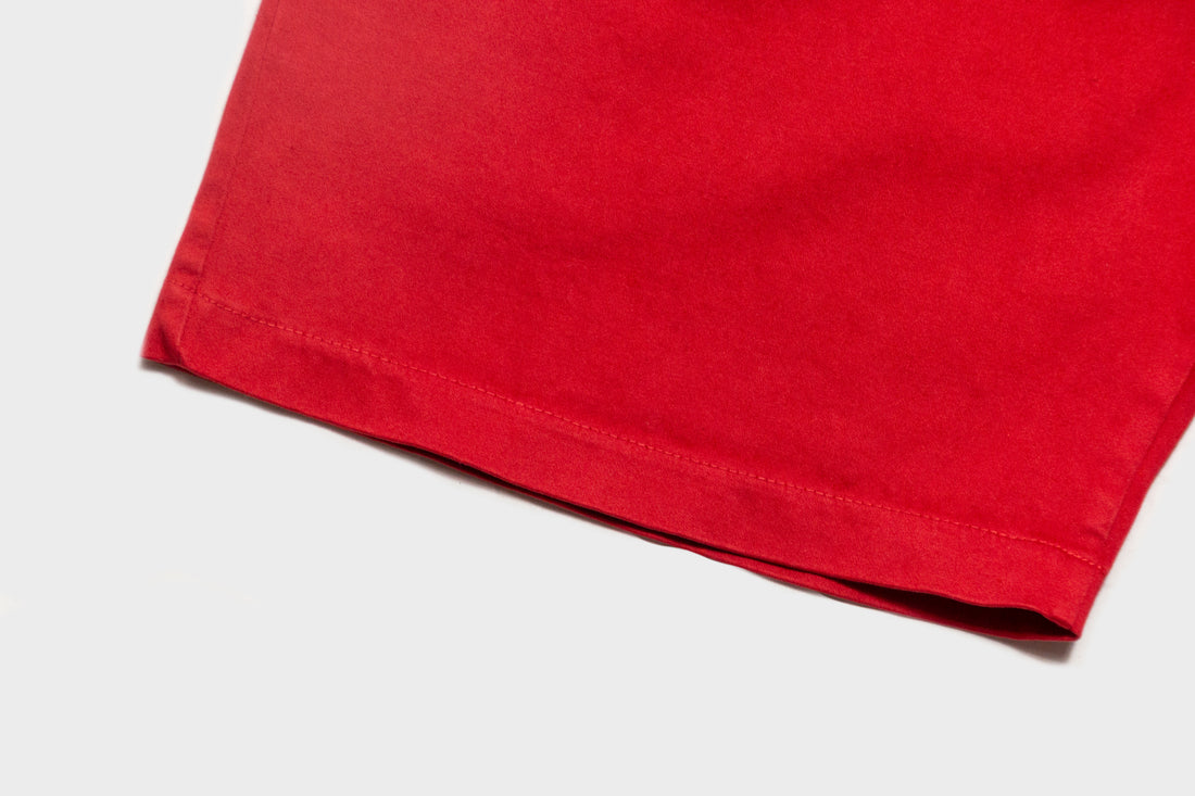 RCK x Standard Issue Pigment Slacker Shorts (Red)