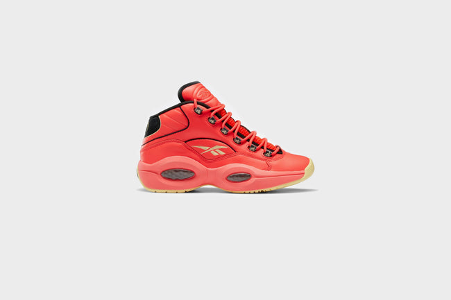 Reebok x Hot Ones Question Mid (Red/Black/Yellow Filament)