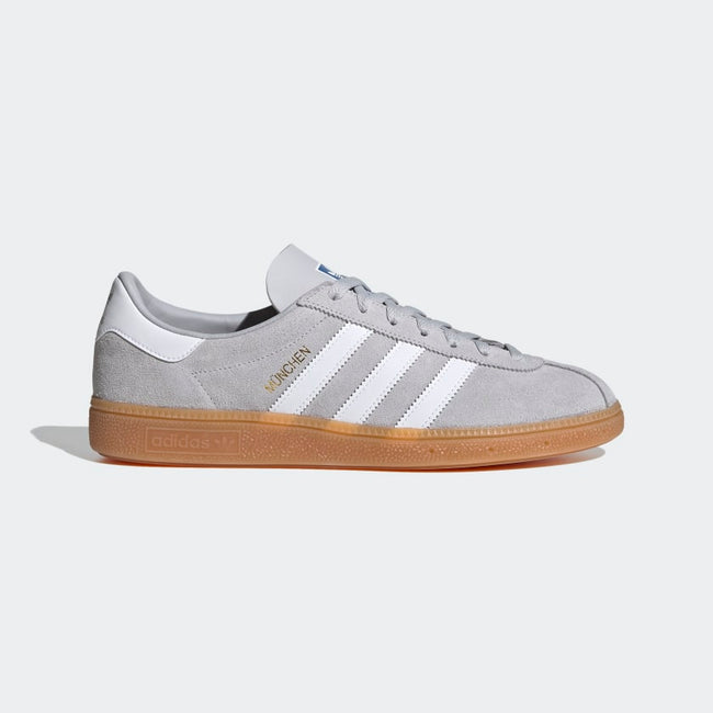 Adidas Munchen (Grey/Core White/Gold Metallic)