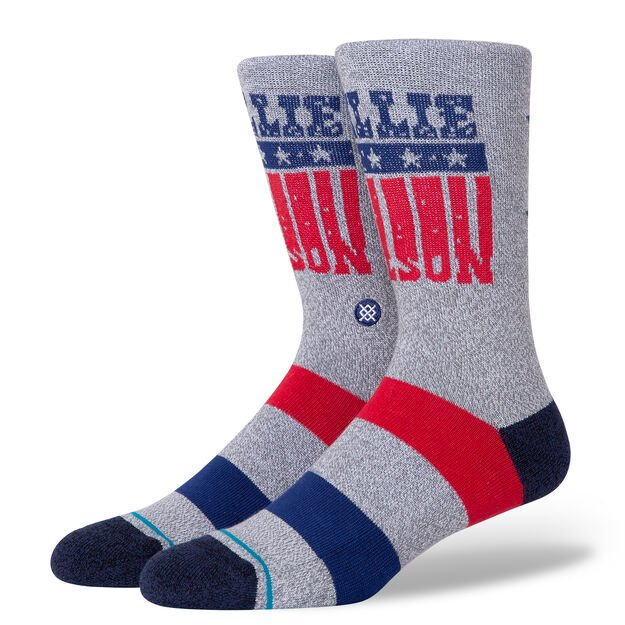 Stance Willie Nelson Stars Socks (Grey)