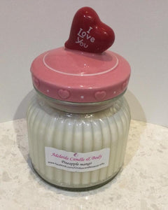 I love you - soy wax Candle - 600 gm