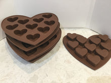 Load image into Gallery viewer, Silicone hearts mould - 2 styles