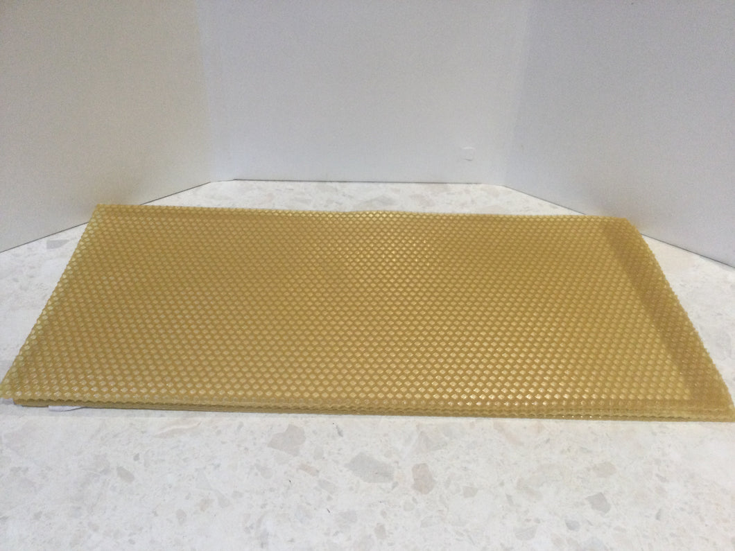 Bees wax sheets - beeswax sheets- ideal for wax food wraps or candles
