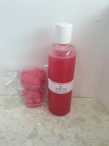 Hello Kitty soap & bubble bath gift pack