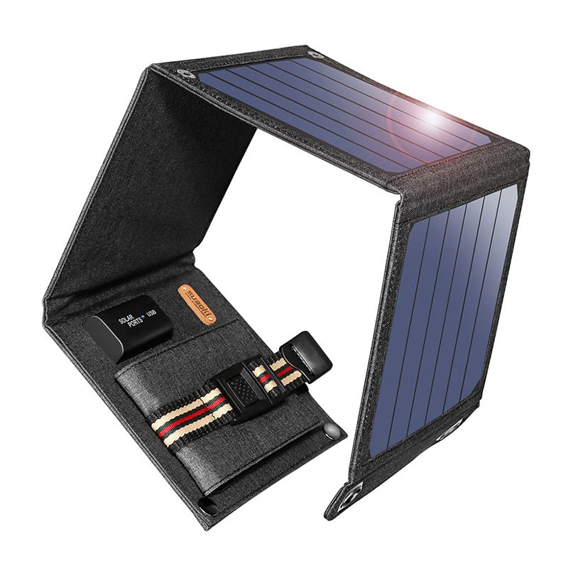 14W Foldable Solar Panel Charger
