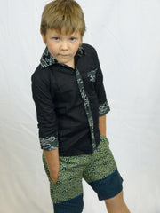 Kids Snazzy Button Down