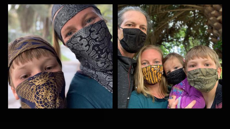 Face Masks &<br> Ninja Wraps