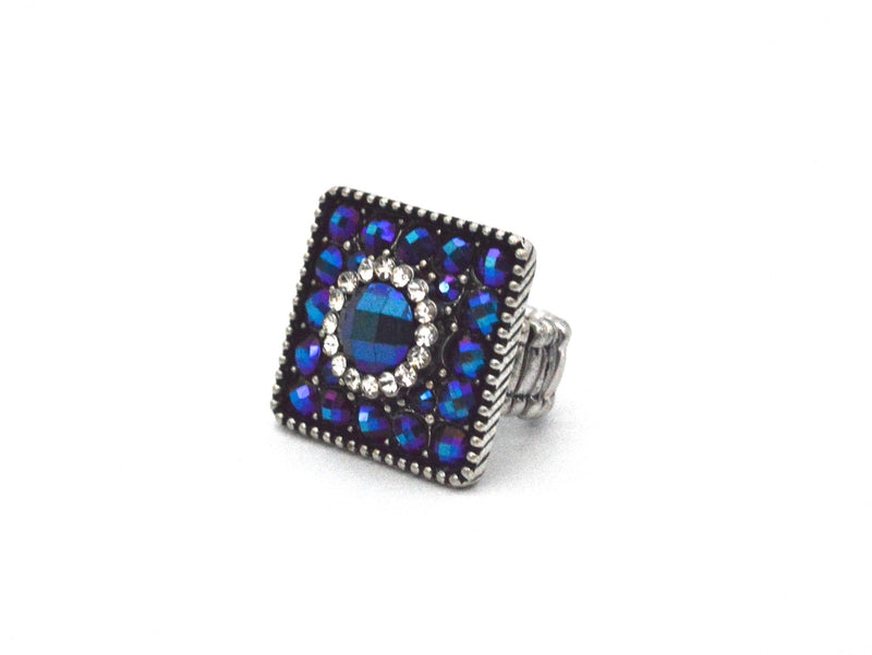 Square Rachel-Anne Bohemian Vegan Ring