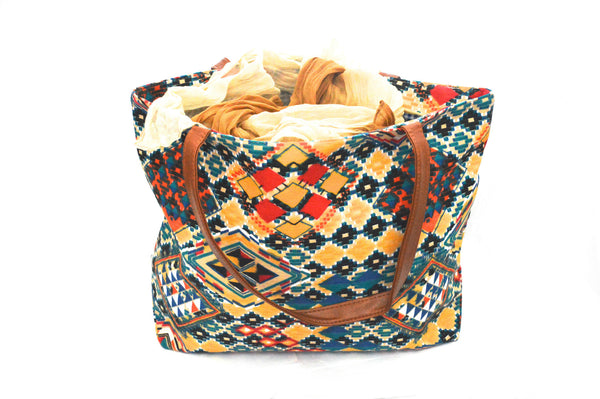 Bohemian Nature Vegan Tote