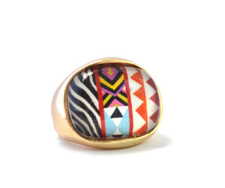 Lina Stretch Tribal Ring