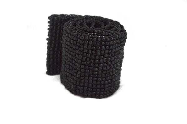 Noir Beaded Belt