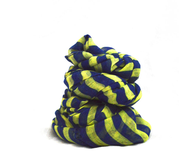 Striped Infinity Liz  Scarf
