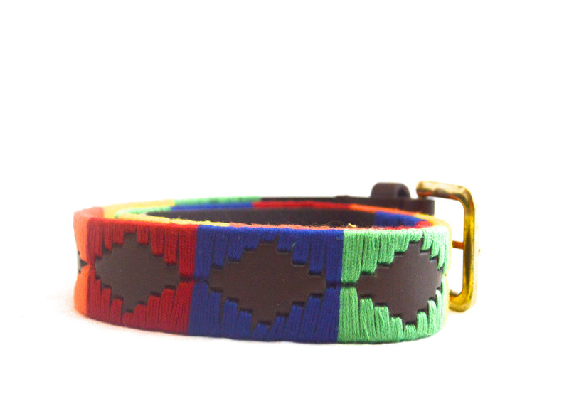 Bohemian Multi Color String Vegan  Belt