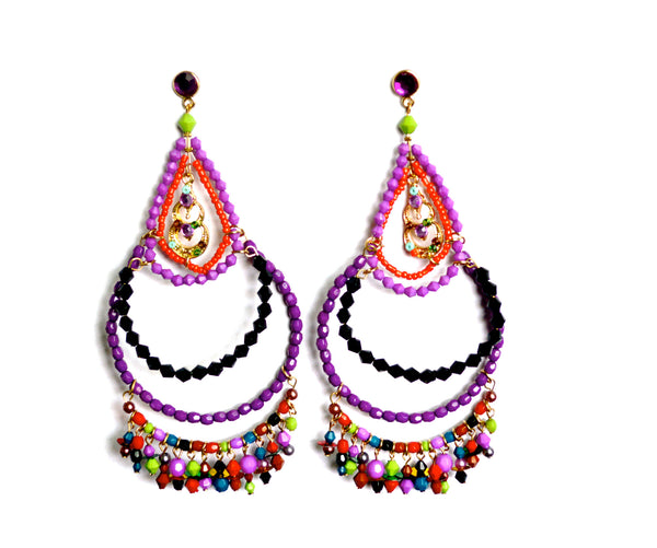 Moroccan Jewel Lanah Earrings