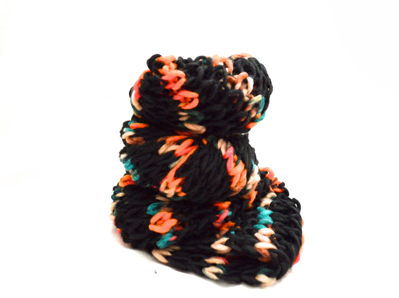 Infinity Multi Color Knit Vegan Scarf