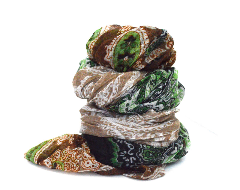 Infinity Arraree Vegan Scarf