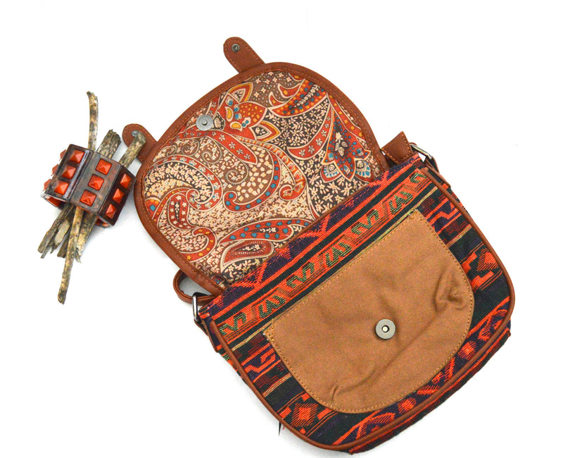 Bohemian Varro  Crossbody Vegan Bag