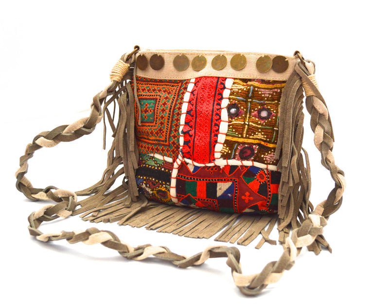 Cora Adelisa Bohemian CrossBody Vegan Bag