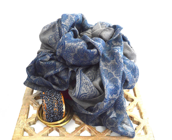 Blue^Wagon Bohemian Sheer Vegan Scarf