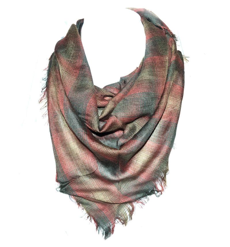 Rust Forest Unisex Vegan Scarf