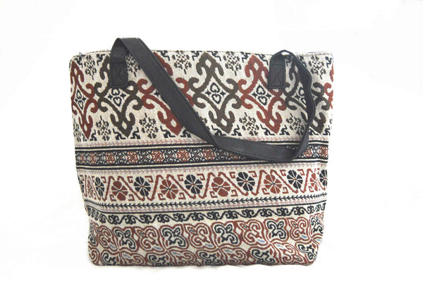 Adele Eden Bohemian Large Vegan Canvas Bag