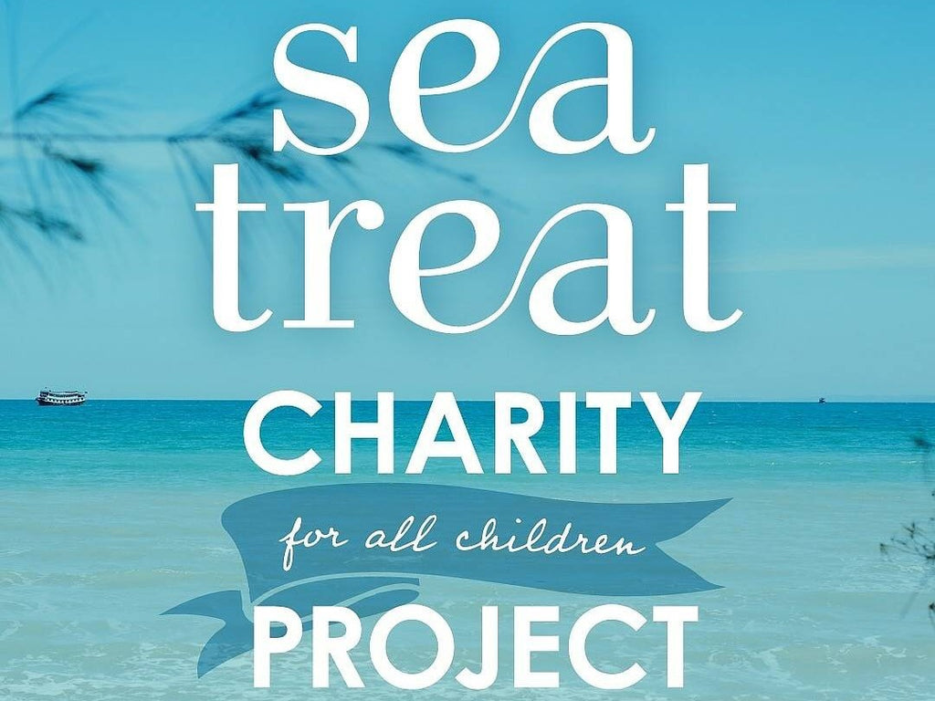 sea treat Charity Project 実施中