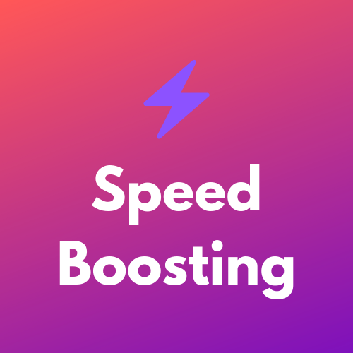 Speed Boosting