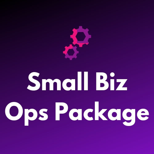 Small Business Optimisation Package for BFCM