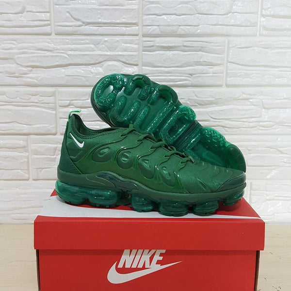 """Green Machine"" Nike Air Vapormax Plus - Shoe Harbor"