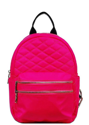 """More Power To Ya"" Double Zipper Backpack - Shoe Harbor"