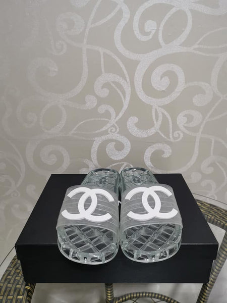 Chanel Jelly Sandals