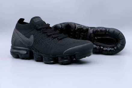 """Black Panther"" Nike Air VaporMax Flyknit 2.0 Sneakers - Shoe Harbor"