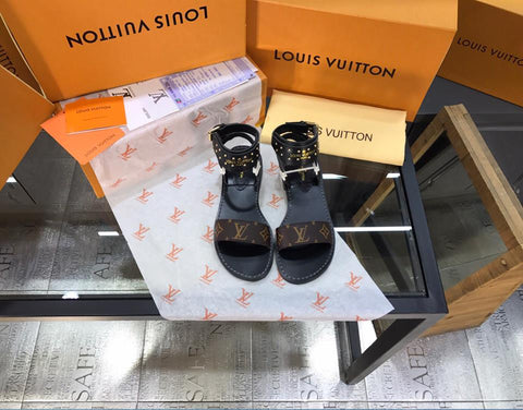 """So Fresh"" Nomad Louis Vuitton Sandals - Shoe Harbor"