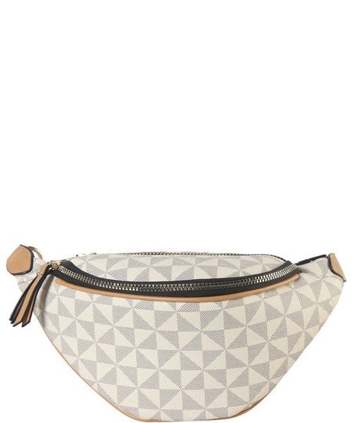 """Wrapped Around You"" Faux Leather Women's Fanny Pack"
