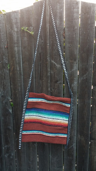 Rio Bravo Southwest Serape Blanket Purse